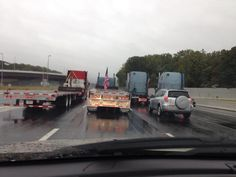 Truck Convoy Protest Causing Traffic Problems on CapitalBeltway - CBS DC