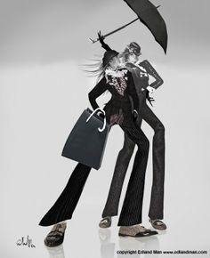"Edland Man. ""The Calcano On-Line Shopping Ladies"" http://edlandman.blogspot.it/p/shopping-ladies-for-calcano.html"