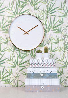 Present time woonaccessoires woondecoratie klok modern woonkamer interieur klok