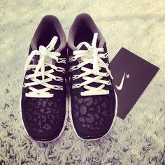 Leopard Nikes