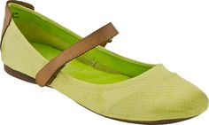 OTBT Pella in Lime from PlanetShoes.com