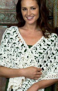 Comforting Shawl Crochet Pattern - free