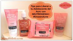 Tips para Liberar a tu #Adolescente del #Acné con @NEUTROGENA Oil-Free Acne Wash Pink Grapefruit.   #SORTEO #UnseenAcne #mamaHolistica #Giveaway