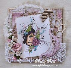 Cards by Astrid: Floral Ladies 2 !!!