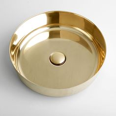Superfront brass sink, will patinate