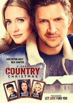 A Very Country Christmas~ I'm all about the country christmas movies. The scenes were beautiful.. side no up and lifetime do movies way better... not so worried about kissing more then once in a movie  at the end of the movie.