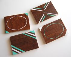 Easy and cheap coasters!
