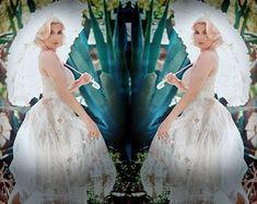 Unique bohemian eco friendly handmade event by MarieSophiaDesigns Event Dresses, Wedding Dresses, Country Garden Weddings, Whimsical, Eco Friendly, Bohemian, Disney Princess, Creative, Unique