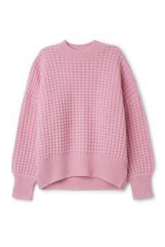 Weekday image 1 of Pine Sweater in Pink Bluish Light