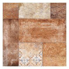 Village Dark Ceramic Tile - 24in. x 24in. - 100411768   Floor and Decor