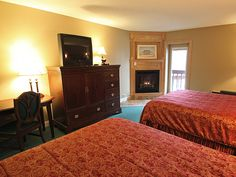 Stay with us near Lake Winnipesaukee in Gilford, New Hampshire. We have suites, traditional rooms, an indoor pool and whirlpool tub and more. Whirlpool Tub, New Hampshire, Relax, Indoor, Room, Travel, Furniture, Home Decor, Interior
