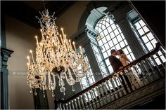 Beautiful wedding photography at the Henry Ford's Lovett Hall. Love the architecture!