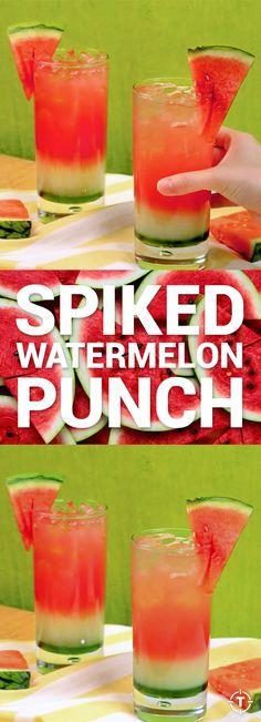 Watermelon Cocktails Look Like Fruit, Taste Like Booze