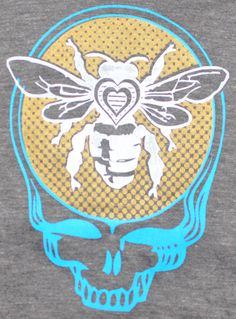 Hey, I found this really awesome Etsy listing at https://www.etsy.com/listing/183678883/bee-grateful-tank-top