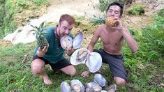 Primitive Technology: Giant Oysters Catch n Cook In Forest Primitive Technology, Oysters, Cooking, Safety, Fishing, Foods, Usa, Nature, Cuisine