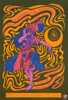 Quicksilver Messenger Service at Avalon Ballroom 1/6-7/67 by Victor Moscoso