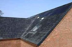 Solarpanels on house roof