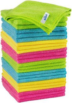 (This is an affiliate pin) SIGA Microfiber Cleaning Cloth Pack