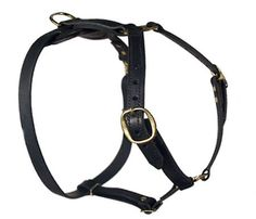 #Leather #Tracking #Dog #Harness for #Bulldogs $59.00 | www.all-about-english-bulldog-dog-breed.com