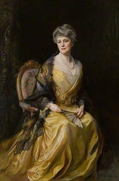 BBC - Your Paintings - Lady Jane Muir Coats, née Greenlees, of Ballathie,Philip Alexius de László