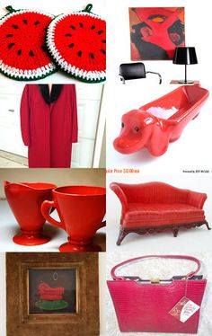 Seeing Red ... by KatesBigSis on Etsy--Pinned with TreasuryPin.com