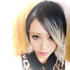 【根元プリンでもOK!】黒の髪色ベースのグラデーションカラー【髪型ヘアカラーカタログ】 - NAVER まとめ