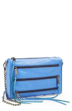 Rebecca Minkoff '5 Zip' Crossbody Bag, Small available at #Nordstrom