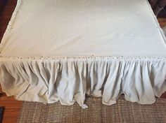 diy no sew drop cloth bed skirt, bedroom ideas, cleaning tips, diy, how to Source by maryemarquis ideas diy Bedroom Furniture, Bedroom Decor, Bedroom Ideas, Luxury Furniture, Furniture Ideas, Bedroom Makeovers, Bedding Decor, Bedroom Curtains, Affordable Furniture