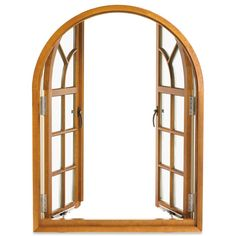 Arched Push Out French Casement Windows - Marvin Windows