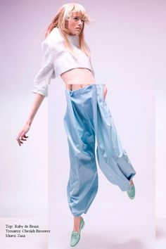 Eclectic fashion editorial by Imke Panhuijzen