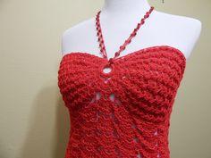 Blusa Coral Crochet parte 2 de 3