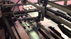 Lightning CNC M6 Plasma Table Cutting Using Hypertherm Powermax 65 with ...