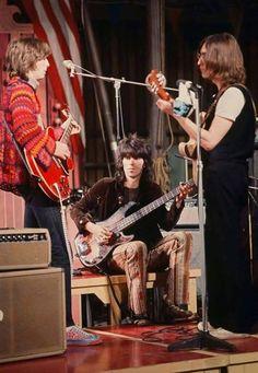Eric Clapton, Keith Richards and John lennon