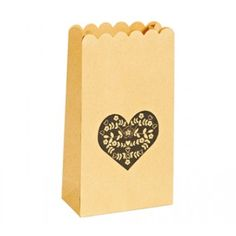 Sweetheart Scalloped Lolly Bags (set of 10)