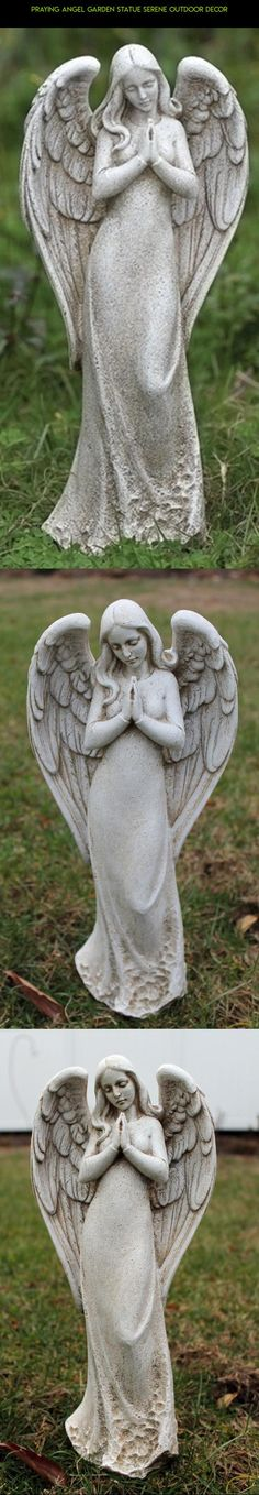Praying Angel Garden Statue Serene Outdoor Decor #racing #tech #outdoor #plans #gadgets #camera #drone #decor #kit #fpv #angel #technology #products #parts #shopping