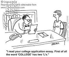 Humorous college admission essay