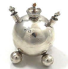 Britannia Fine Antique Silver Novelty Items 1