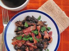 PaleOMG – Paleo Recipes – Maple Blueberry Bacon Breakfast Carnitas (Overnight Slow Cooker)