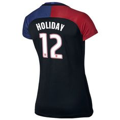 2016/17 USA (#12) Lauren Holiday Away Women's Soccer Jersey