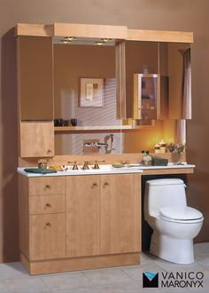 Simple modern classic bath vanity by Vanico Maronyx / Classic Collection Bath Vanities, Sinks, Classic Baths, Classic Collection, Modern Classic, Double Vanity, Mirror, Bathroom, Simple