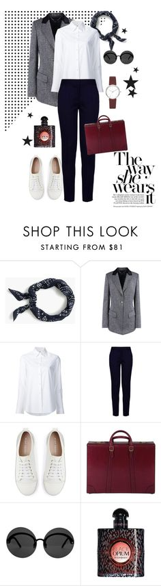 """""""Casual"""" by nansy393 on Polyvore featuring J.Crew, Barbara Bui, Misha Nonoo, STELLA McCARTNEY, Mint Velvet, Gucci, Le Specs, Yves Saint Laurent and DKNY"""