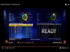 MLB® The Show™ 17 Red Sox 230 Nunez, Devers in Lineup