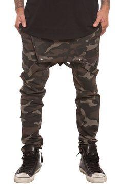 Elwood Pants Anti Jogger Overalls Camo Green