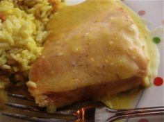 Best Fish Recipes for the Lenten Season: Microwave Salmon with Orange Sauce