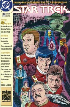 Star Trek (Nov DC) for sale online Star Wars, Star Trek Tos, Star Comics, Dc Comics, Comic Book Covers, Comic Books, Saint Robert, Star Trek Original Series, Comic 8