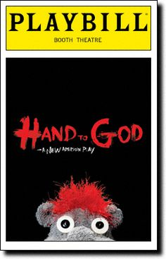 Hand to God Broadway @ Booth Theatre - Tickets and Discounts New York Broadway, Broadway Plays, Broadway Theatre, Broadway Shows, Theatre Plays, Theatre Shows, Theatre Geek, Theater Tickets
