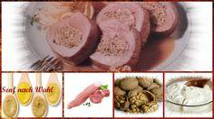 Vorratshaltung, Garten, Kochen, Rezepte, Gesundheit, Dekoideen, Hausmittel: Schweinsfilet mit Nussfüllung Creme Fraiche, Eggs, Breakfast, Food, Browning, Mustard, Remedies, Health, Kochen