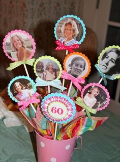 Cute idea for milestone birthday                                                                                                                                                                                 More