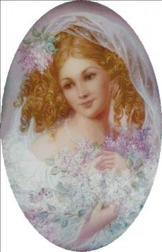 Lilac Sorrow [STRELKINA120] - $9.50 : Heaven And Earth Designs, cross stitch, cross stitch patterns, counted cross stitch, christmas stockings, counted cross stitch chart, counted cross stitch designs, cross stitching, patterns, cross stitch art, cross stitch books, how to cross stitch, cross stitch needlework, cross stitch websites, cross stitch crafts