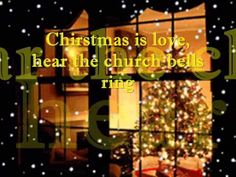 Christmas Is Love With Lyrics: It's that time of year when the whole world is heart to heart You can feel love all around you, you can see it everywhere Chri. Christmas Music, Retro Christmas, Christmas Carol, Before Christmas, Music Songs, My Music, Music Videos, Comin Home, Xmas Songs